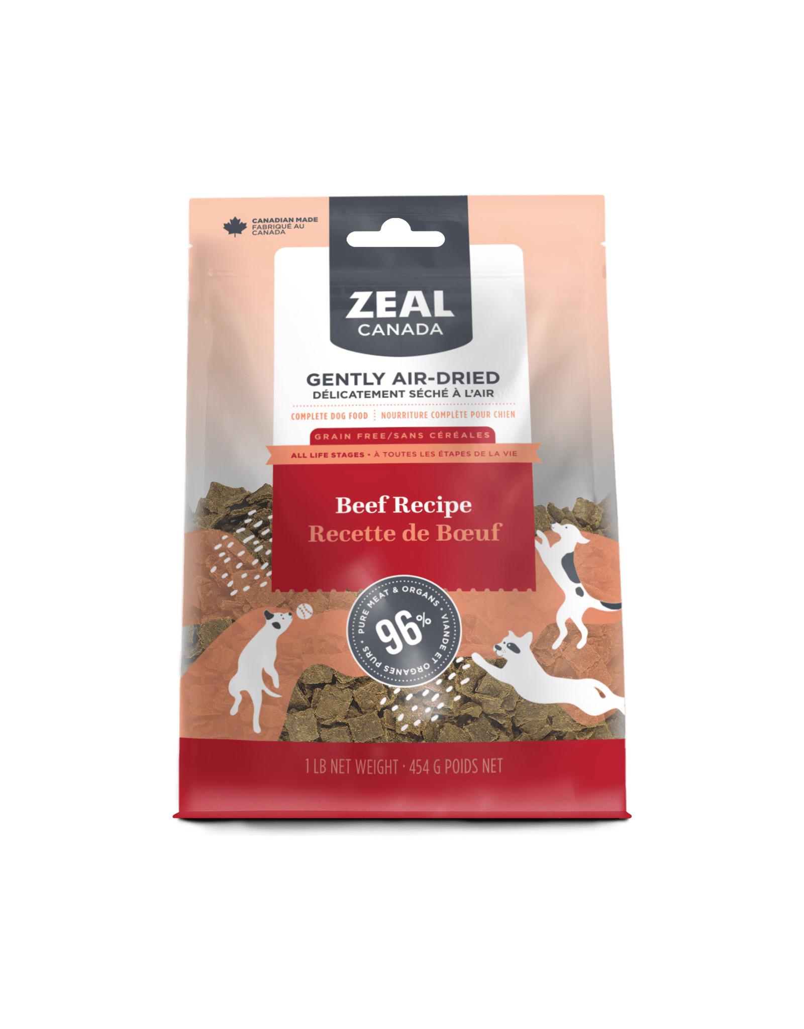 ZEAL ZEAL BEEF 1LB