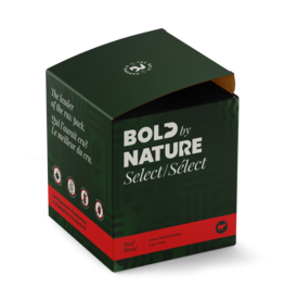 BOLD BY NATURE BOLD BEEF PATTIES 4lb