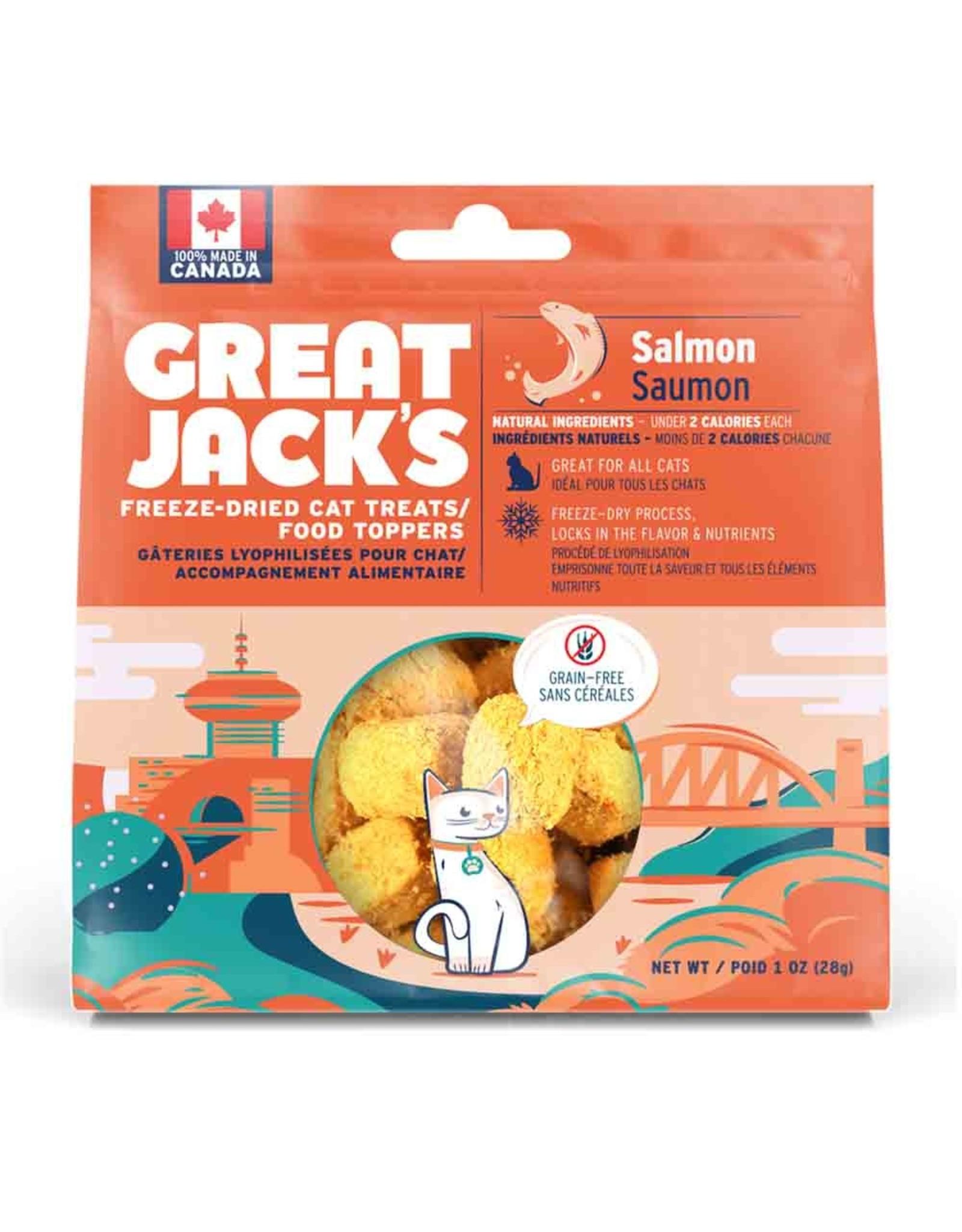 GREAT JACKS GREAT JACKS SALMON 85g