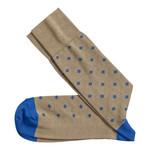 J&M Johnston & Murphy Floating Diamond Socks