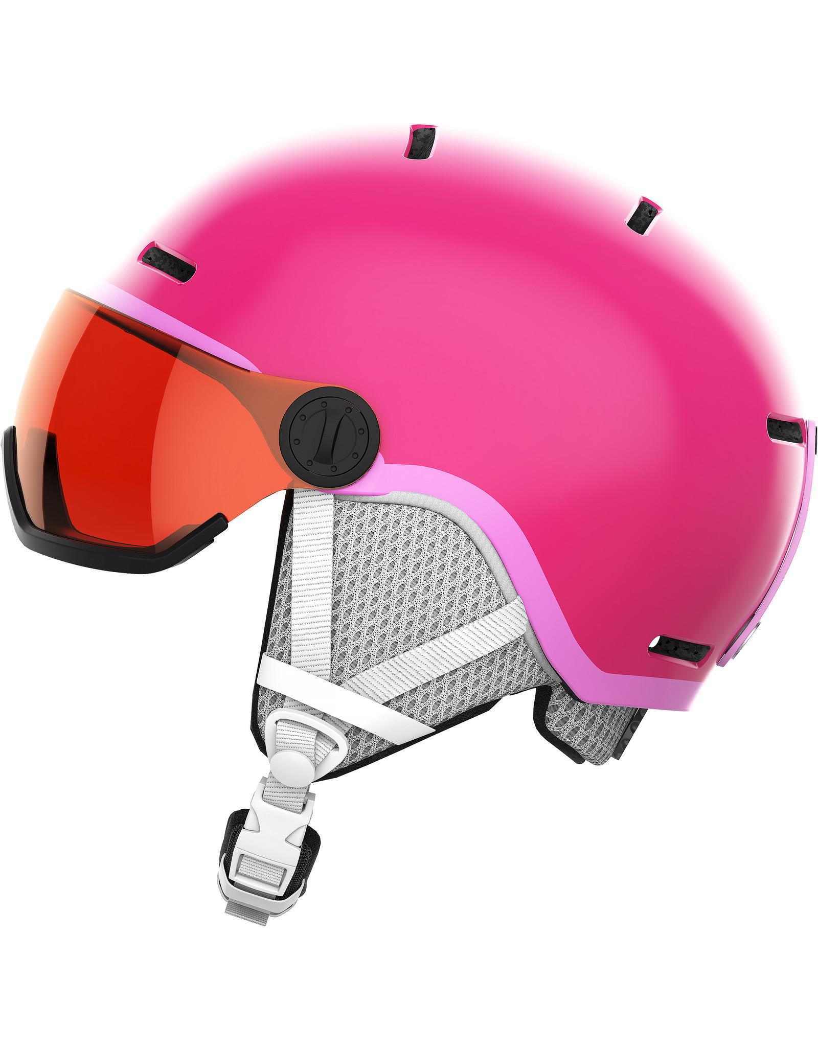 Salomon GROM VISOR Glossy Pink/Univ.