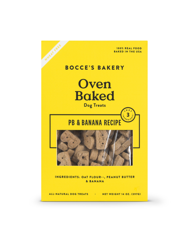 Bocce's Bakery Bocce's Basics PB & Banana Biscuits