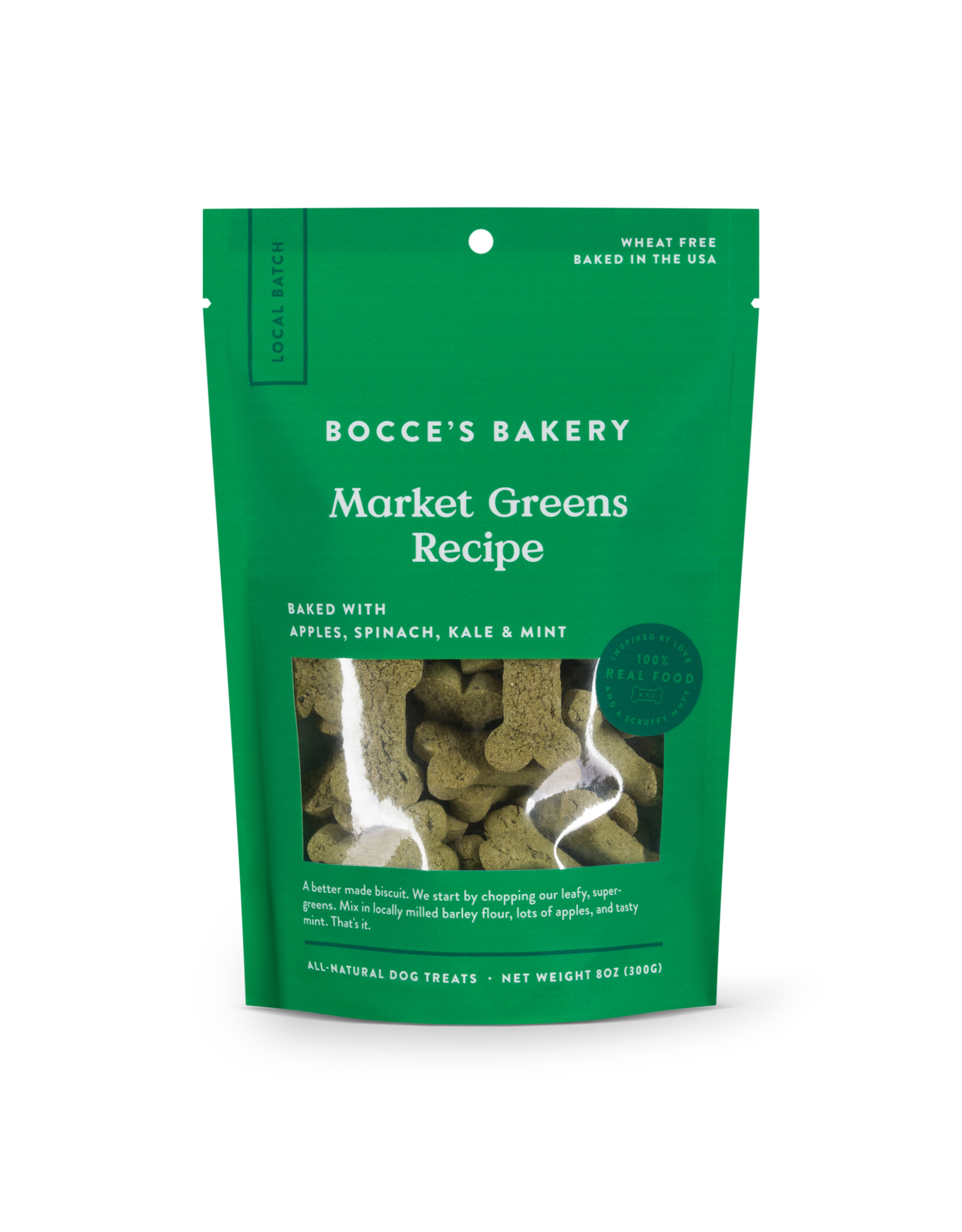 Bocce's Bakery Bocce's Bakery Small Batch Market Greens Biscuits
