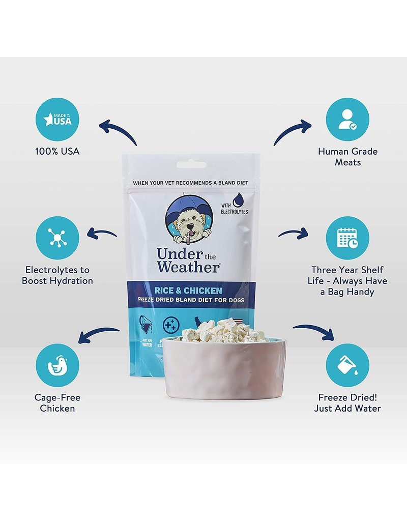 Under the Weather Under the Weather Chicken & Rice Bland Diet For Dogs