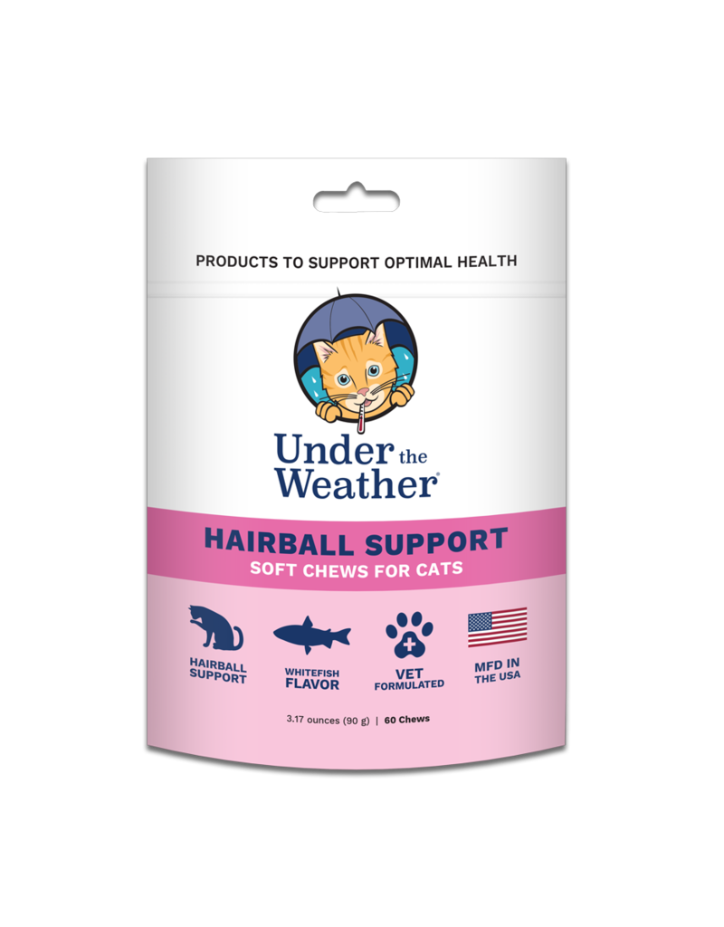 Under the Weather Under the Weather Hairball Support For Cats