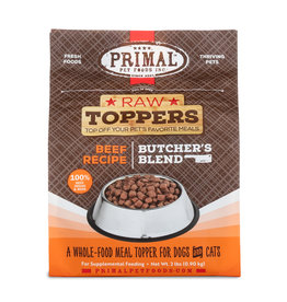 Primal Pet Foods Primal Raw Toppers Butcher's Blend Beef
