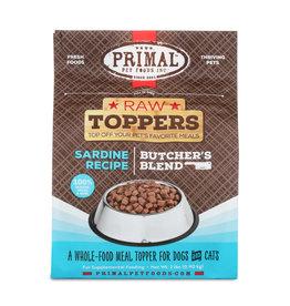 Primal Primal Raw Toppers Butcher's Blend Sardine