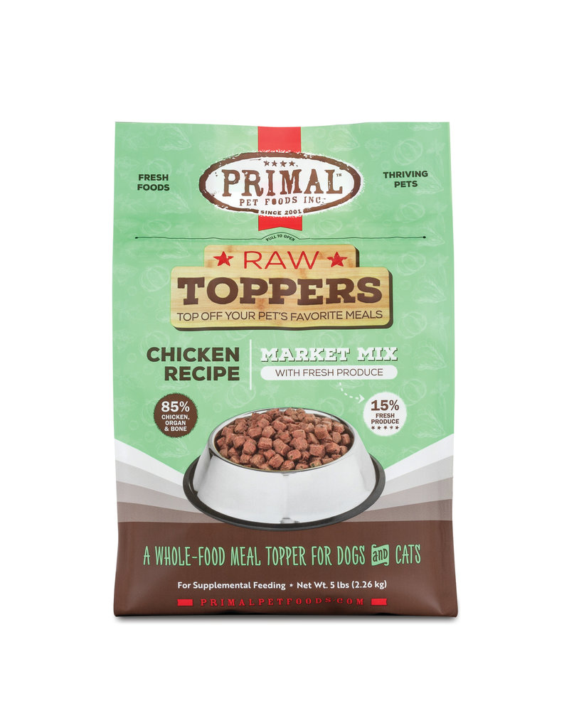 Primal Pet Foods Primal Raw Toppers Market Mix Chicken