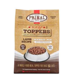 Primal Pet Foods Primal Raw Toppers Market Mix Lamb