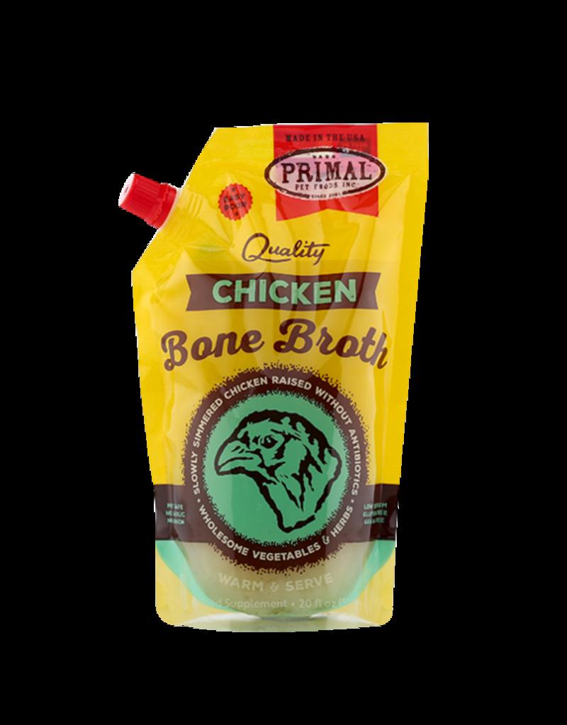 Primal Pet Foods Primal Frozen Chicken Bone Broth for Cats & Dogs
