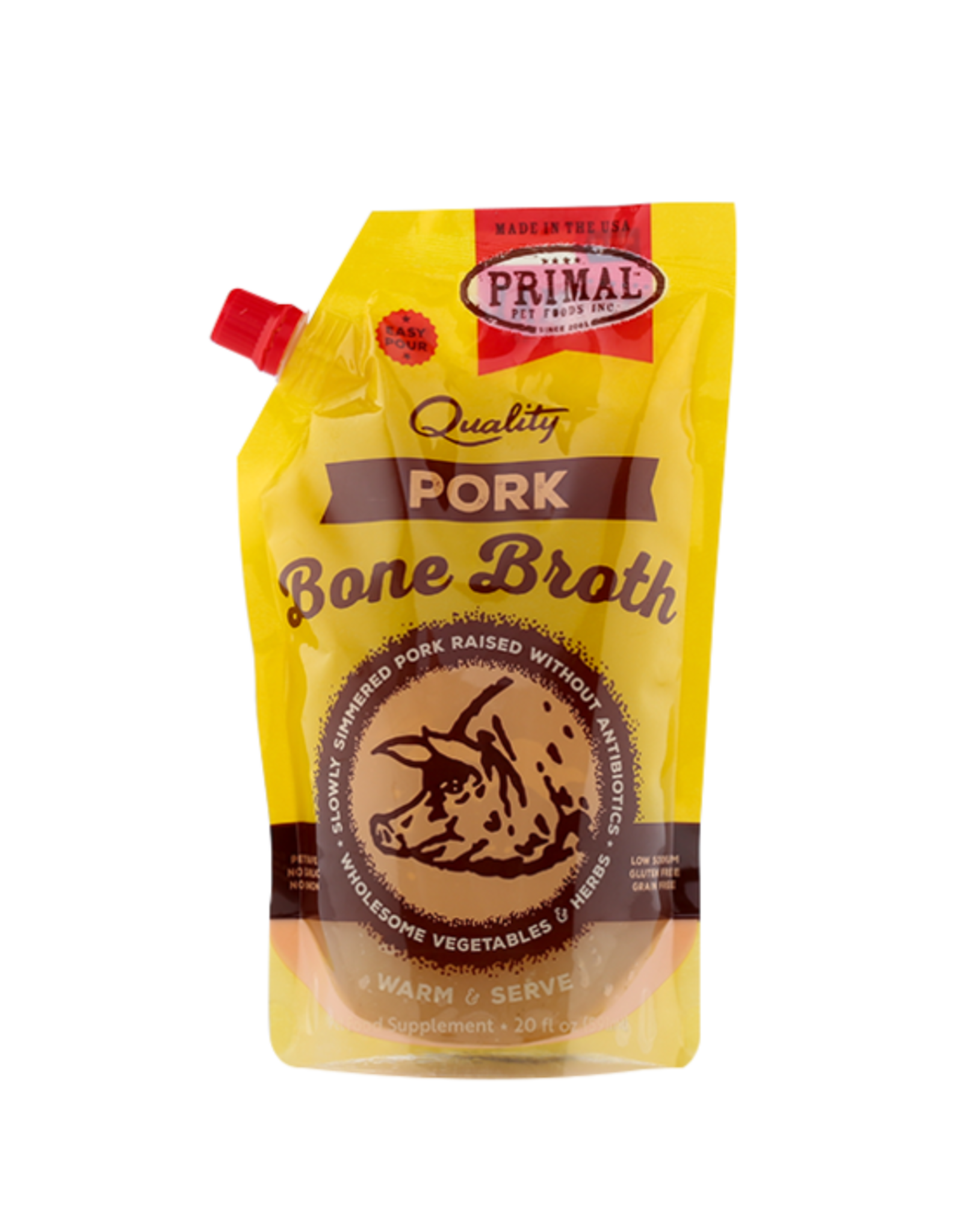 Primal Pet Foods Primal Bone Broth Pork
