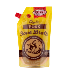 Primal Pet Foods Primal Frozen Pork Bone Broth for Cats & Dogs