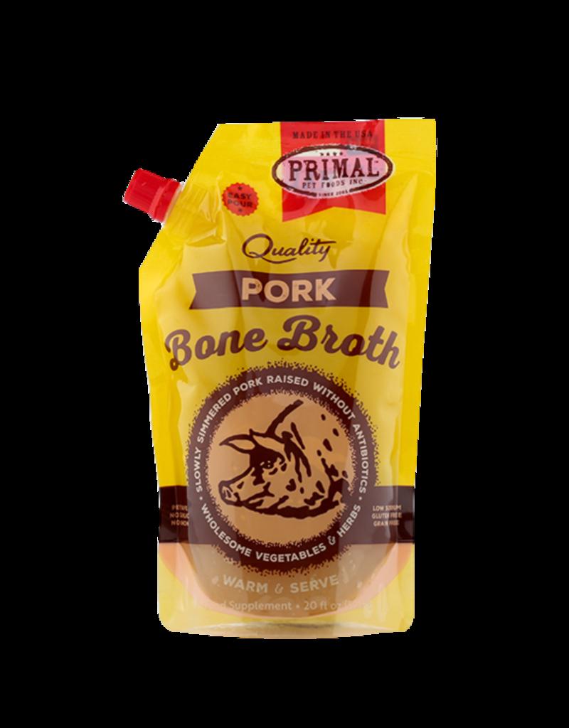 Primal Pet Foods Primal Frozen Pork Bone Broth for Cats & Dogs