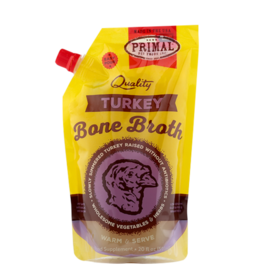 Primal Pet Foods Primal Frozen Turkey Bone Broth for Cats & Dogs
