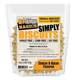 K9 Granola Factory Simply Biscuits Cheese & Bacon