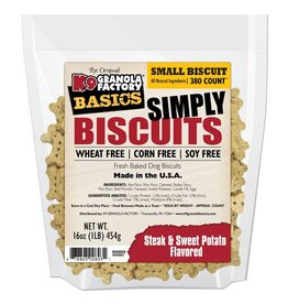 K9 Granola Factory Simply Biscuits Steak & Sweet Potato