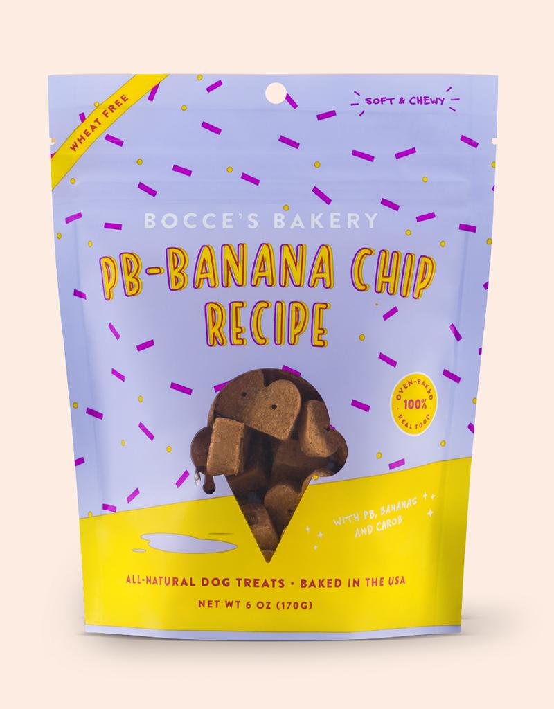 Bocce's Bakery PB-Banana Chip Soft & Chewy Treats