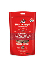 Stella & Chewy's Remarkable Red Meat Dinner Patties Freeze-Dried Raw Dog Food