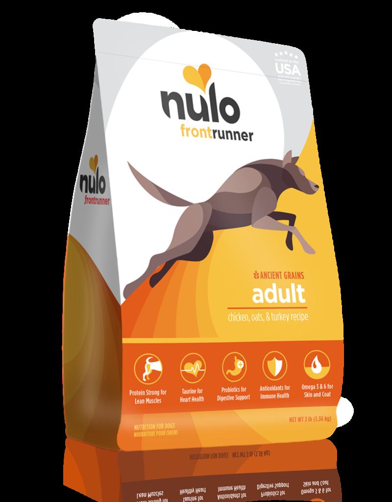 Nulo Frontrunner Adult Chicken, Oats & Turkey High-Meat Kibble