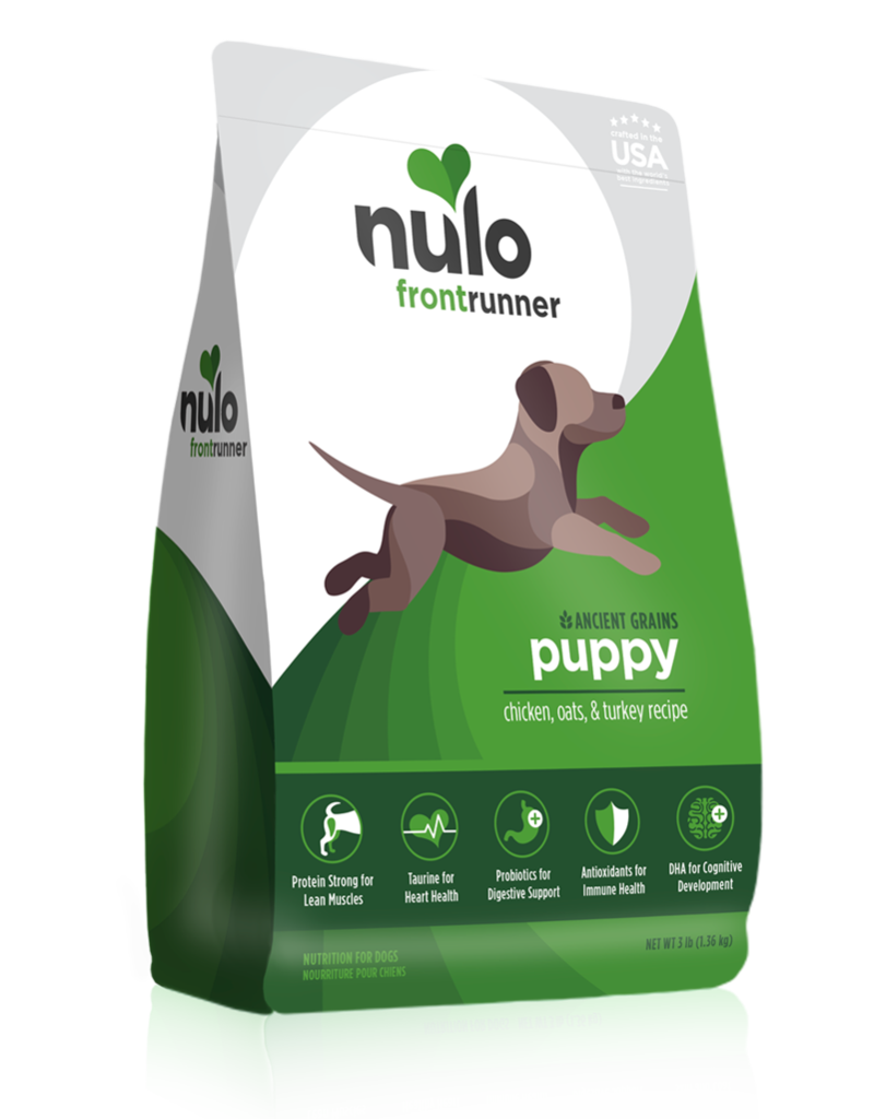 Nulo Frontrunner Puppy Chicken, Oats & Turkey High-Meat Kibble