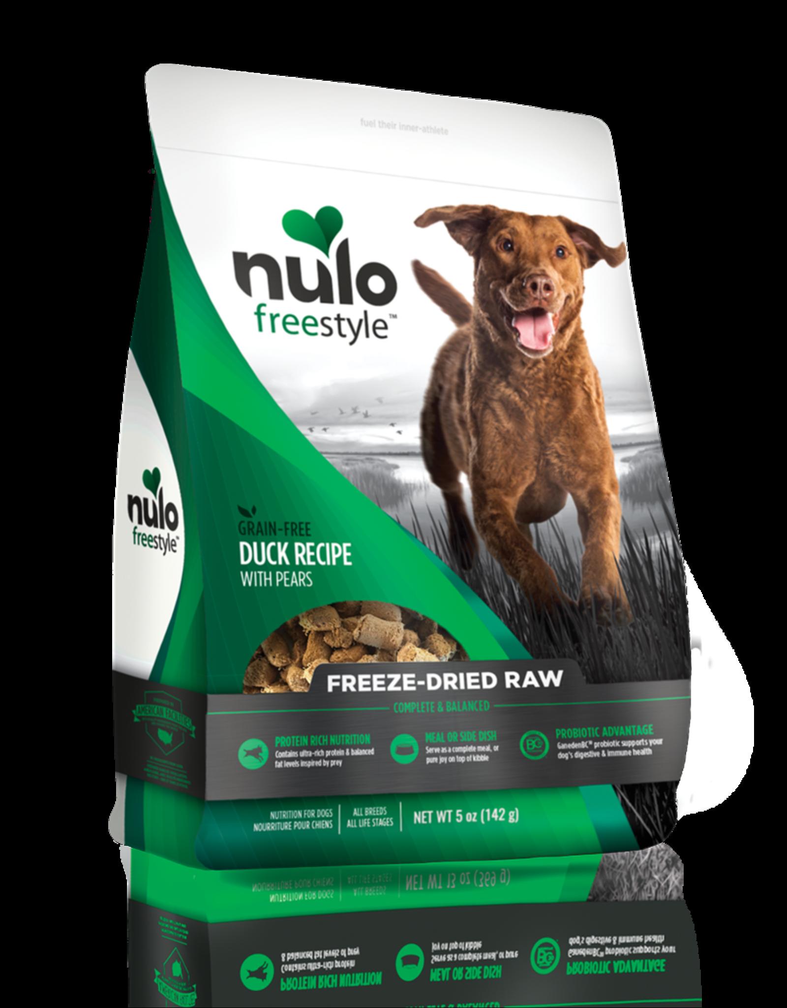 Nulo Freestyle Freeze-Dried Raw Duck w/ Pears