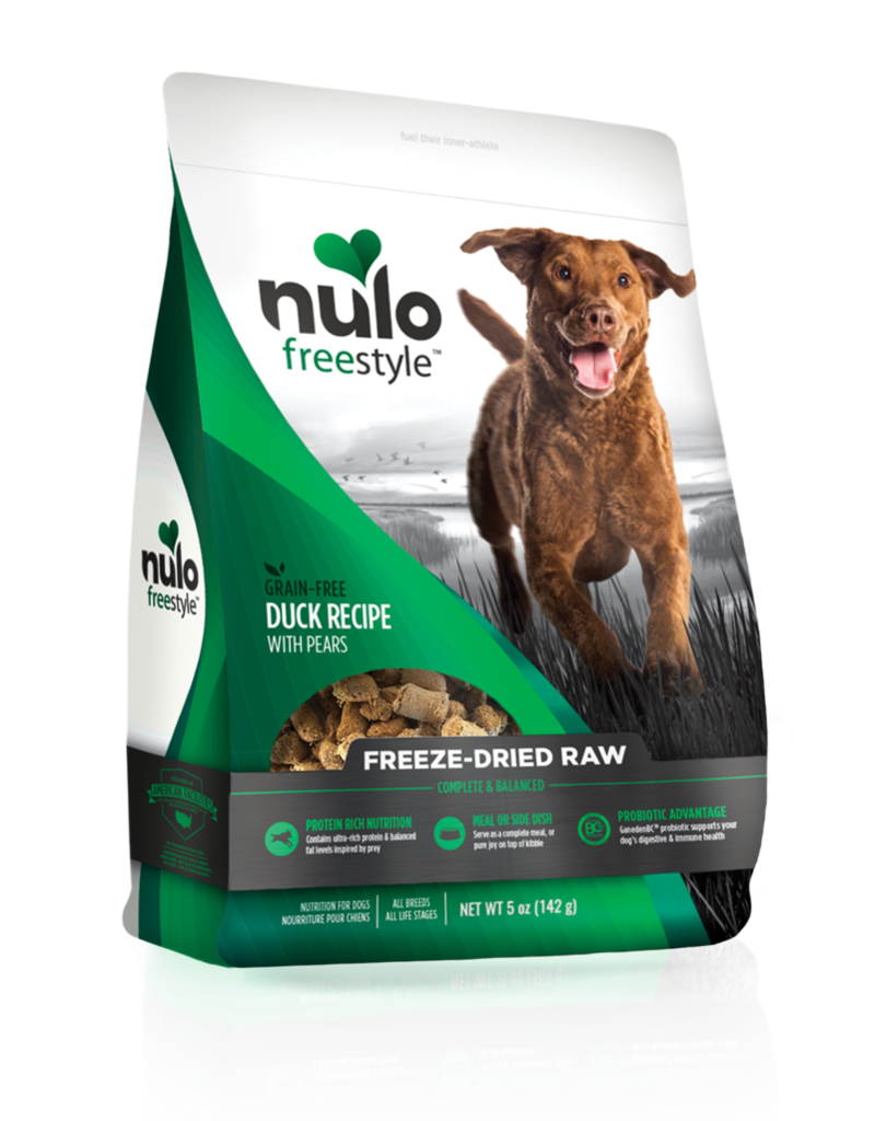 Nulo Freestyle Freeze-Dried Raw Duck w/ Pears