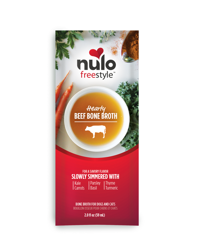 Nulo Freestyle Grass-Fed Beef Bone Broth
