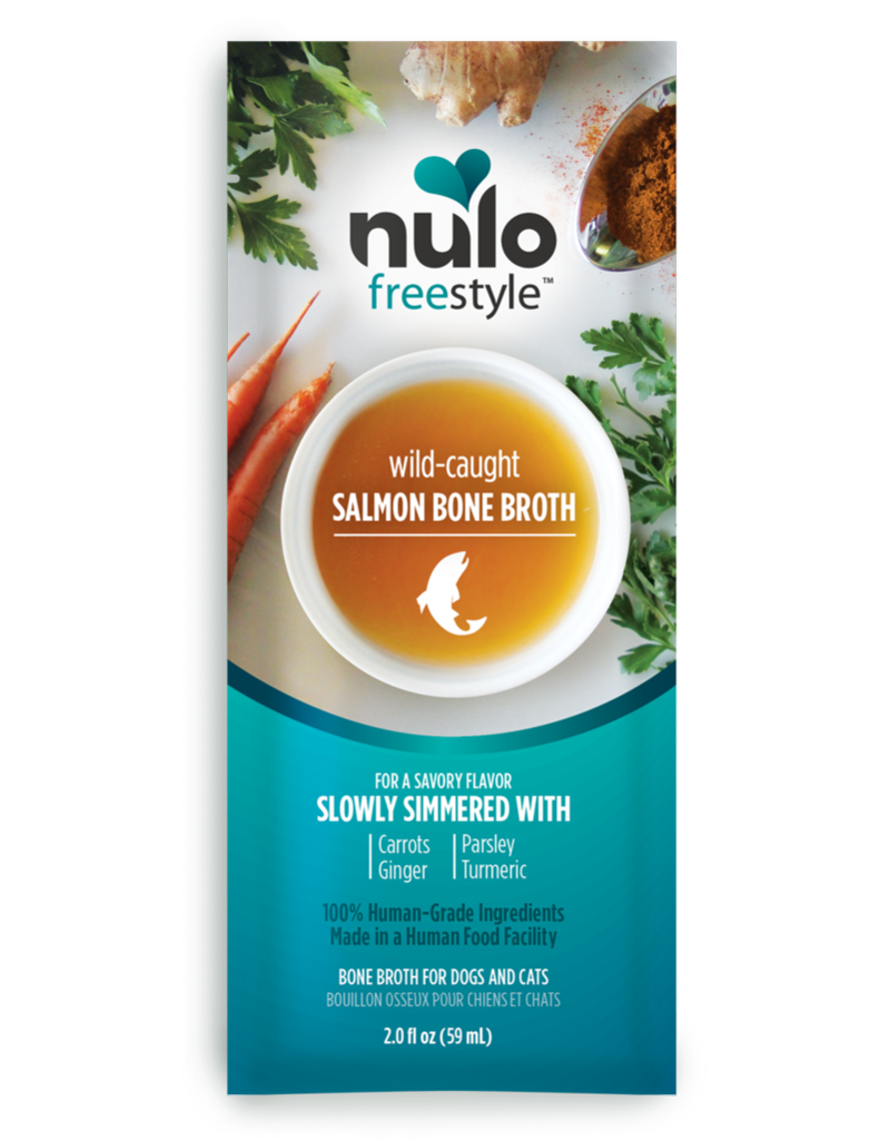 Nulo Freestyle Wild-Caught Salmon Bone Broth
