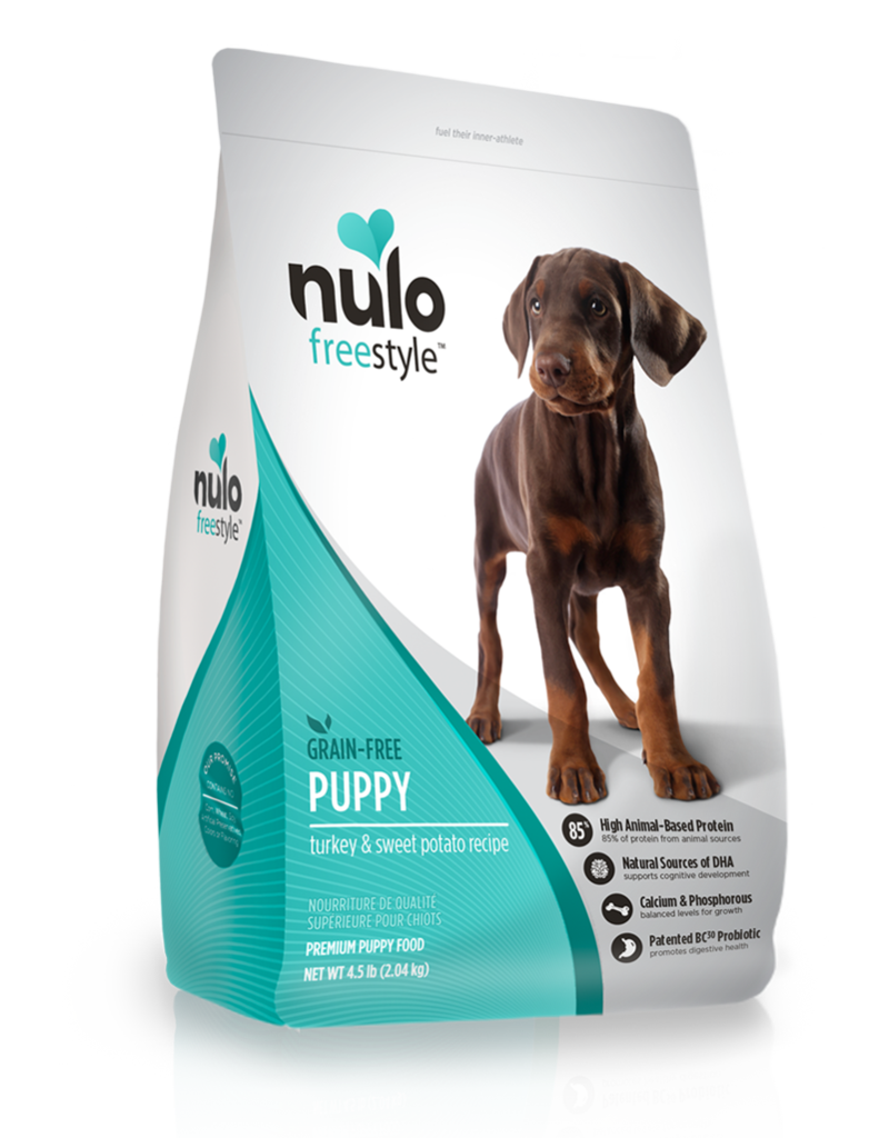 Nulo Freestyle Puppy Turkey & Sweet Potato High-Meat Kibble