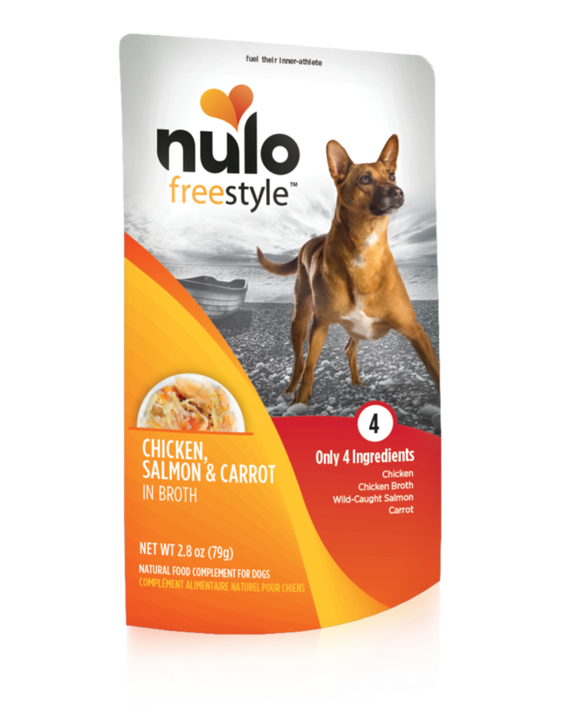 Nulo Freestyle Chicken, Salmon & Carrot Meaty Topper