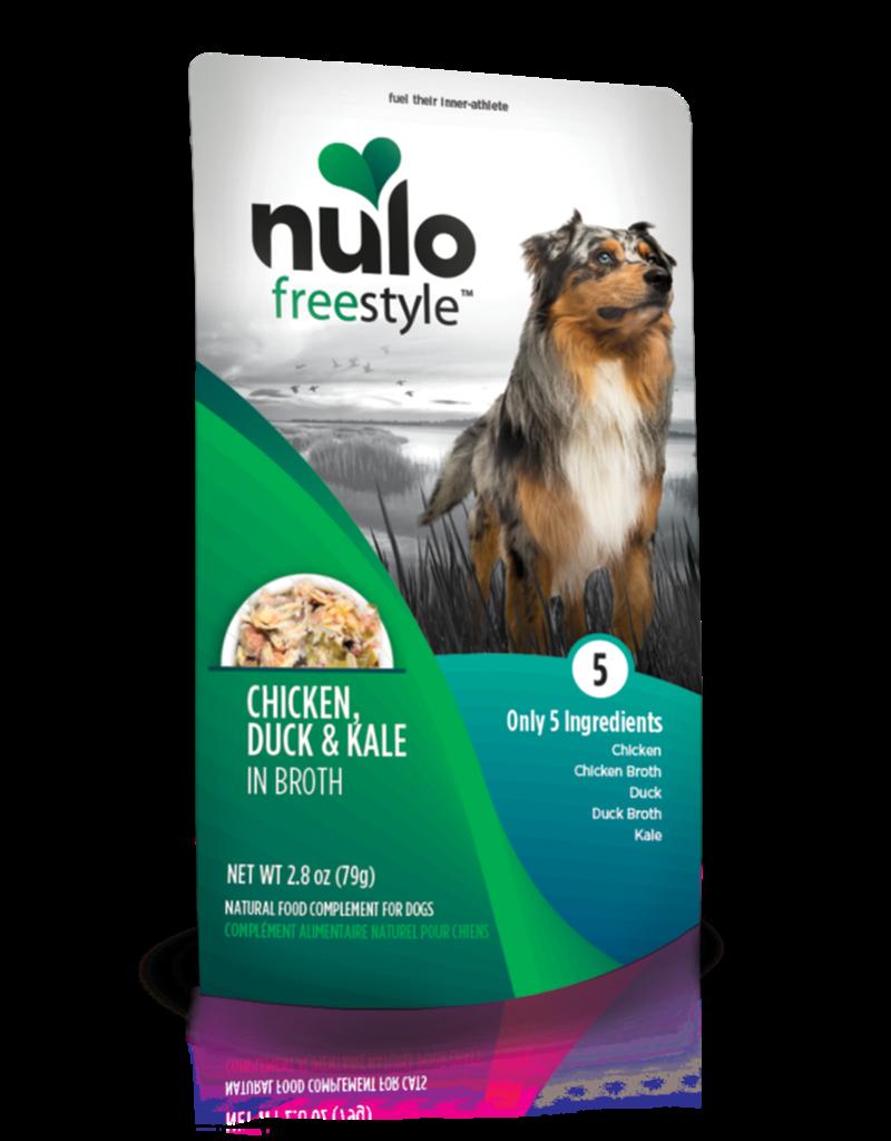 Nulo Freestyle Chicken, Duck & Kale Meaty Topper