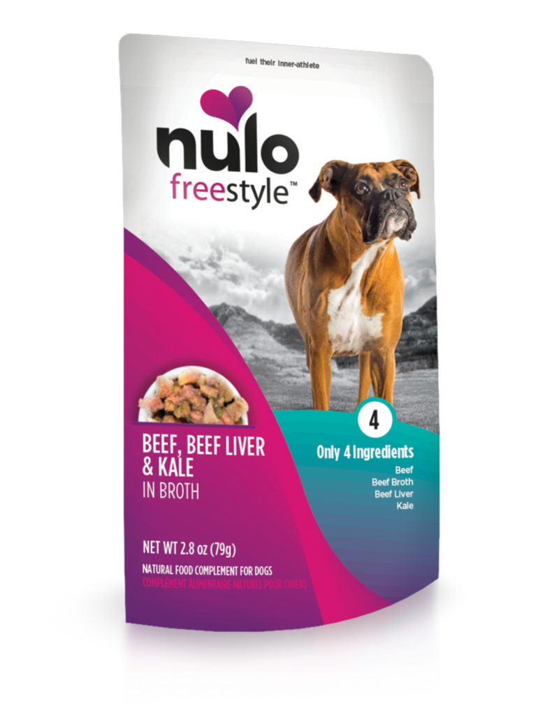Nulo Freestyle Beef, Beef Liver & Kale Meaty Topper