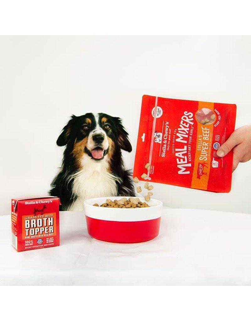 Stella & Chewy's Stella's Super Beef Meal Mixers Freeze-Dried Raw Dog Food