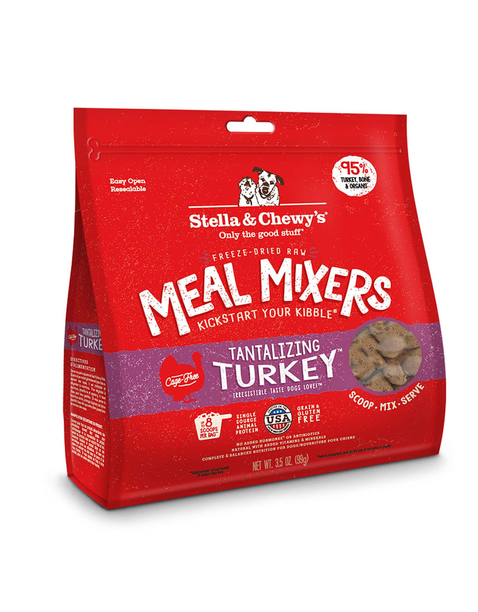 Stella & Chewy's Tantalizing Turkey Meal Mixers Freeze-Dried Raw Dog Food