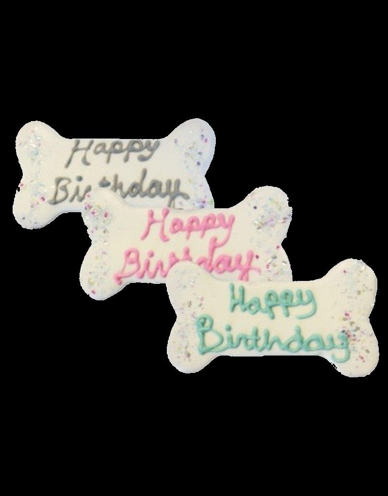 Preppy Puppy Bakery Birthday Bone Cookie - Designer Dog Treat
