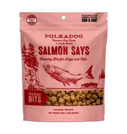 Polkadog Bakery Salmon Says Training Bits
