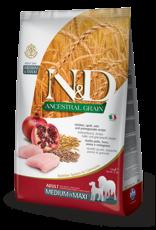 N&D Ancestral Grain Chicken & Pomegranate Adult Dog Food