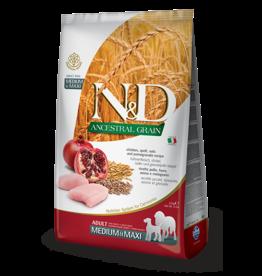 Farmina Pet Foods N&D Ancestral Grain Chicken & Pomegranate