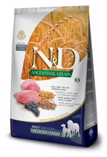 N&D Ancestral Grain Lamb & Blueberry Adult Dog Food