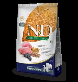 Farmina N&D Ancestral Grain Lamb & Blueberry