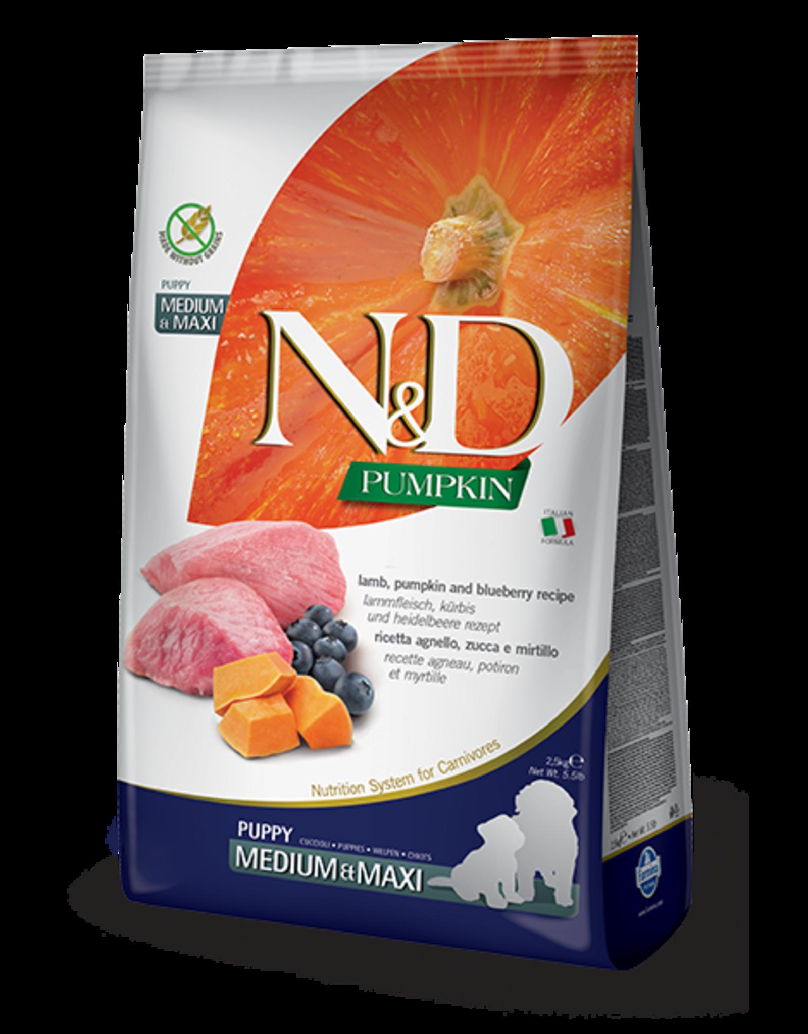 N&D Pumpkin Grain-Free Lamb & Blueberry Puppy Food