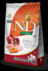 N&D Pumpkin Grain-Free Chicken & Pomegranate Adult Dog Food
