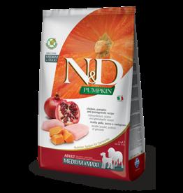 Farmina Pet Foods N&D Pumpkin Grain-Free Chicken & Pomegranate