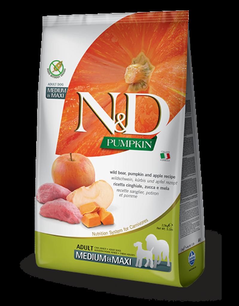 Farmina Pet Foods N&D Pumpkin Grain-Free Boar & Apple Adult Dog Food