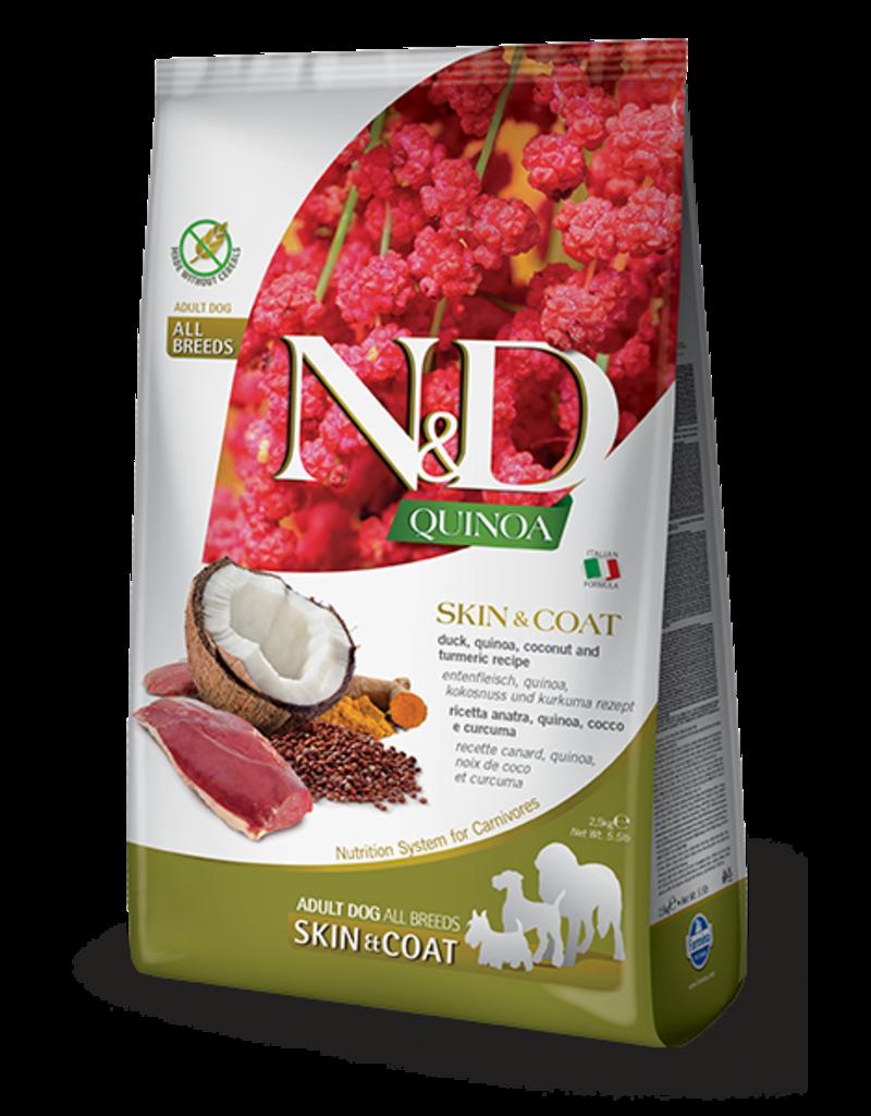 Farmina Pet Foods N&D Quinoa Skin & Coat Duck Adult Dog Food