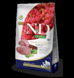 Farmina Pet Foods N&D Quinoa Weight Management Lamb