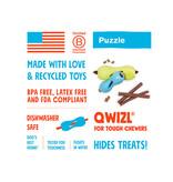 West Paw Zogoflex Qwizl Treat Toy