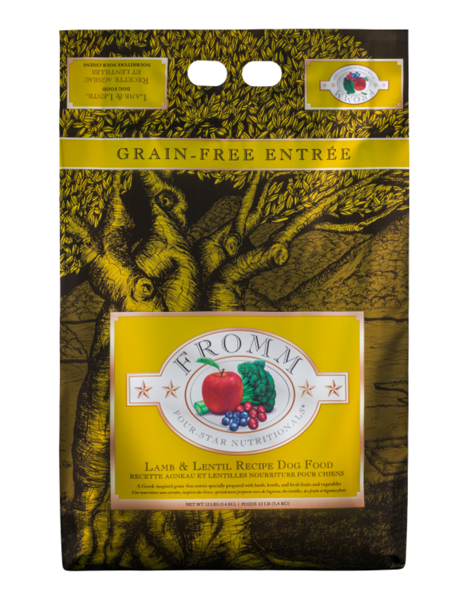 Fromm Family Fromm Four-Star Lamb & Lentil Dog Food