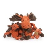 HuggleHounds Moose Knottie Plush Toy