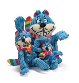HuggleHounds Rainbow Cheshire Cat Knottie
